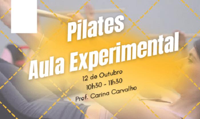 Aula Experimental de Pilates para Pais e Grávidas