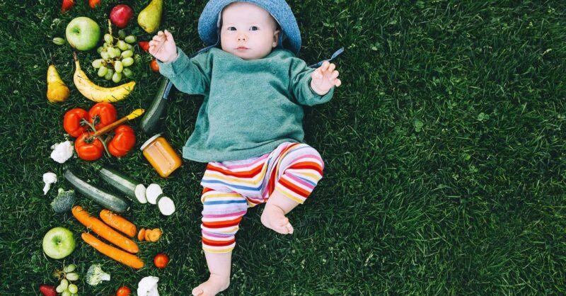 Bebés e Alimentação Vegan: é saudável?