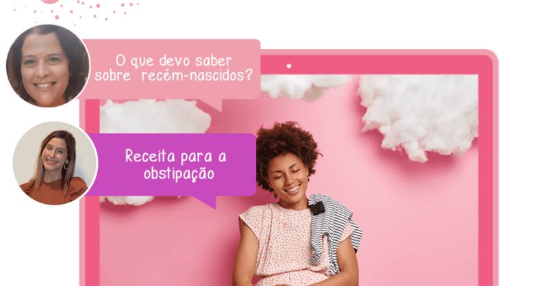 """Workshop para mamãs online – """"Tenho um bebé e agora?"""""""
