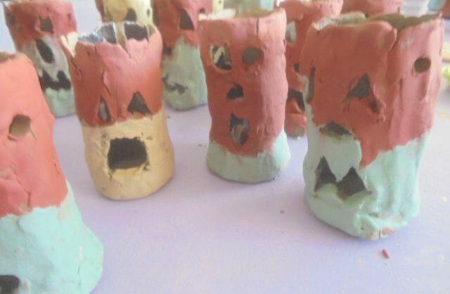 Abóboras argilosas