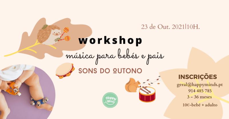 Workshop Música para Bebés e Pais