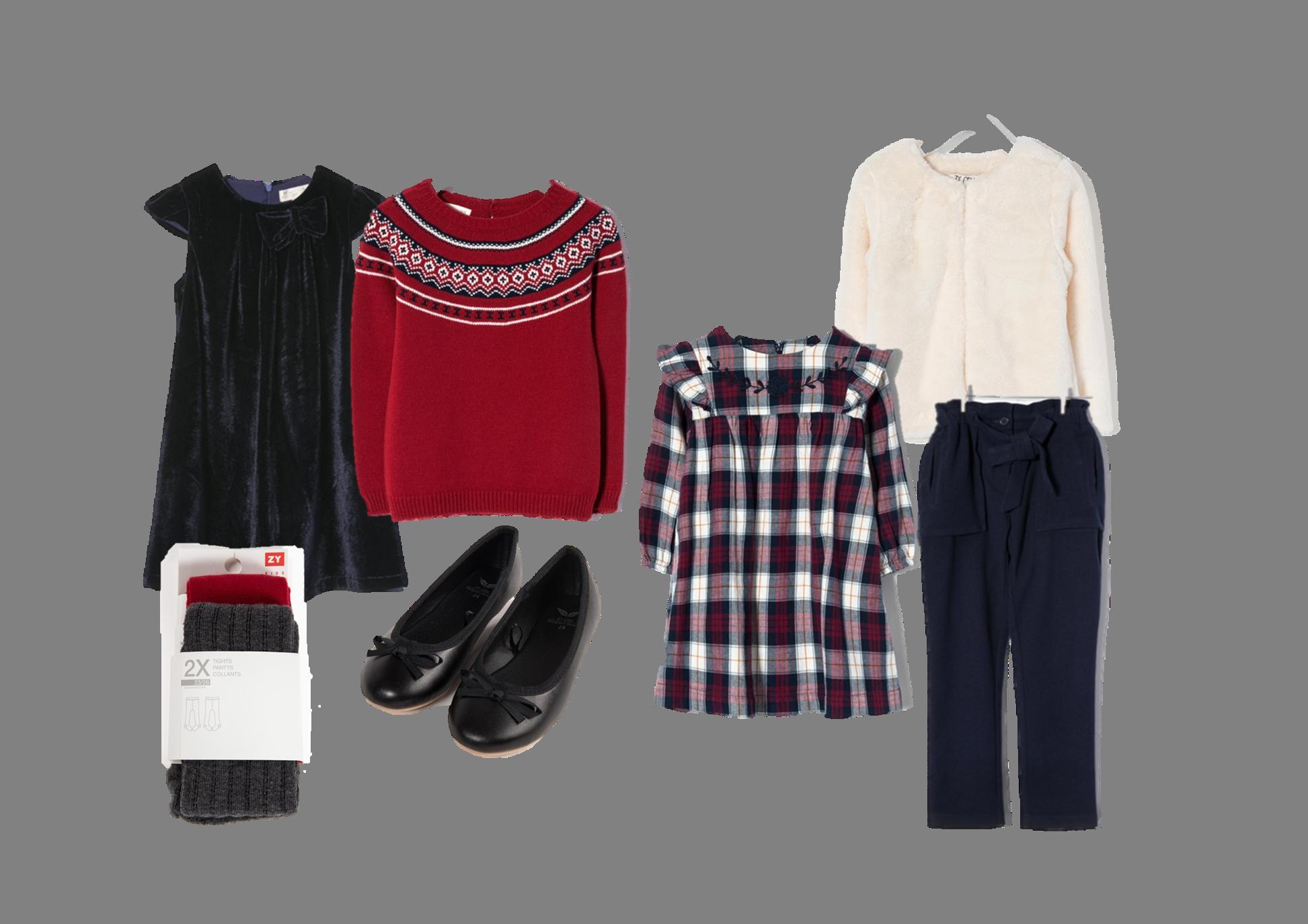 Ideias para Abobrinhas cheias de estilo na Consoada: Meninas