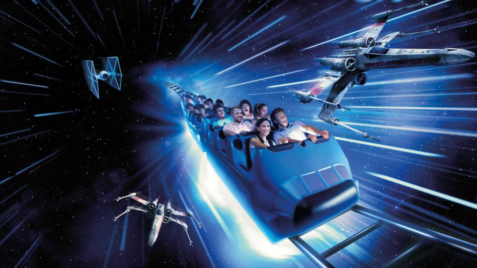 Star Wars Space Mountain