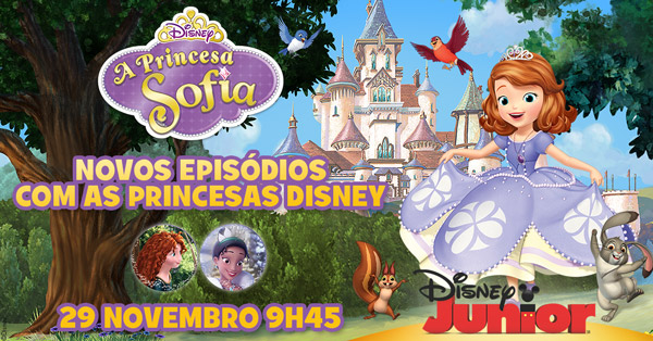 Princesa Sofia Nova Temporada Disney Junior