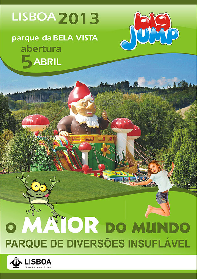 Big Jump no Parque da Bela Vista