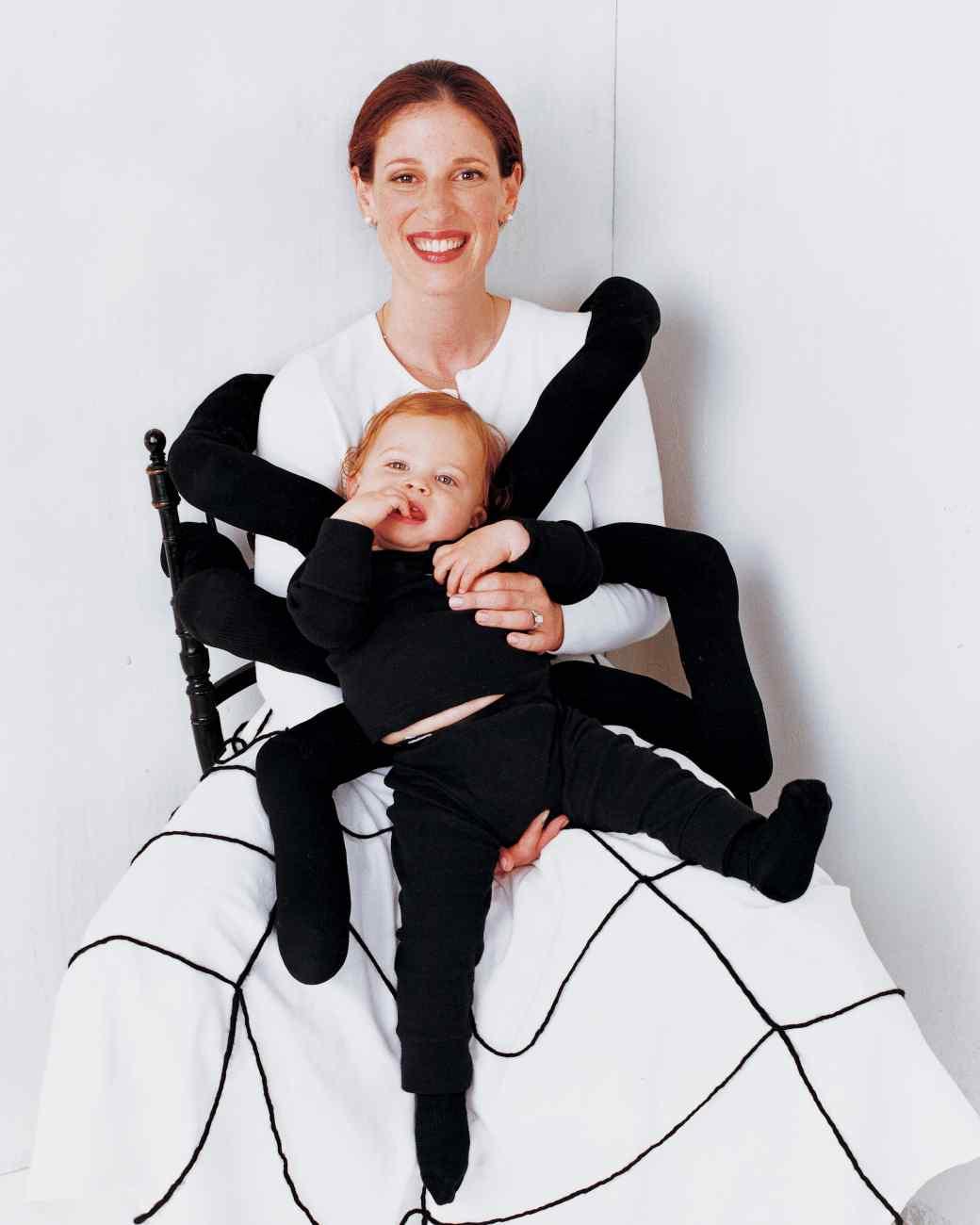 fatos de halloween para bebés - Bebé Aranha