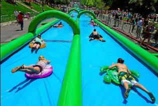 Porto City Water Slide