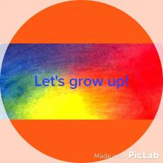 Let's Grow up ao domingo!
