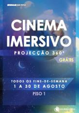 LoureShopping disponibiliza sessões gratuitas de Cinema Imersivo