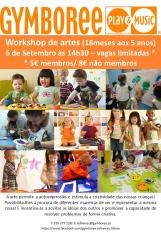 Workshop de Artes Gymboree