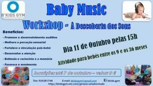 Baby Music Workshop - Á Descoberta dos Sons