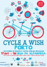 O Cycle-a-wish Porto está de volta!