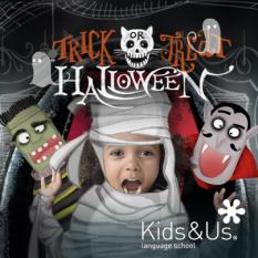 Halloween Trick or Treat with Kids&Us