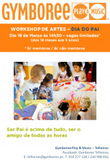 Workshop Artes - Dia do Pai