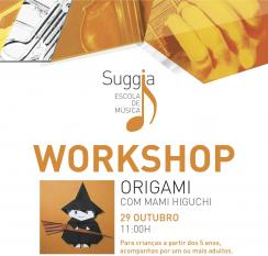 Workshop de Origami do Halloween  29 de Outubro | Porto