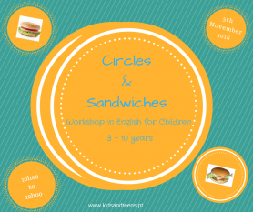 Circles & Sandwiches | Workshop  5 de Novembro | Vila Nova de Gaia