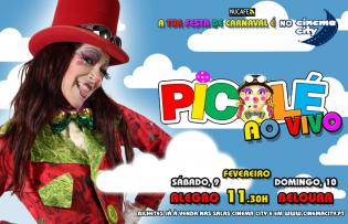 Picolé ao Vivo no Cinema City