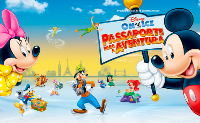 Disney On Ice Passaporte para a Aventura