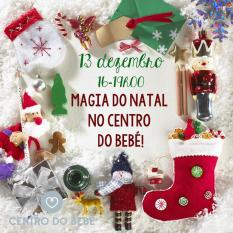 Magia do Natal no Centro do Bebé!